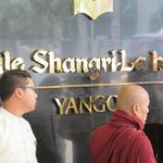 Newly Named Hotel Receiving A Monks Blessing