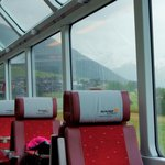 Seats on the Glacier Express Zurich - Andermatt-Zermatt