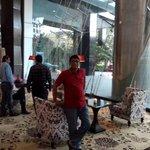 Hotel Sofitel Reception Area