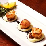 "Seared Sea Scallops  ""Chef's Signature Dish"""