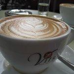 Pretty art on Vits coffee