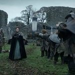 Scene from Game of Thrones filmed at Inch Abbey