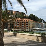 Nearby Harbor Town San Stefano