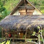 bungalow bord de lagon