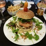 The Royal Burger, layer after layer of flavors create a sensational dining experience