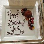 Chocolate Birthday Surprise!