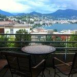 Vista lago dalla suite