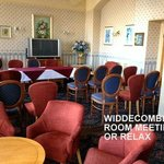 WIIDDECOME ROOM FOR OUR MEETINGS & GAMES
