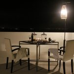 Rooftop BBQ dining