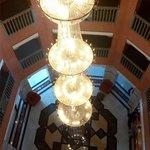 lampara preciosa  hall entrada
