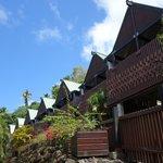 Luxury lodges Outside