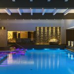 Indoor thermal swimming pool and SPA