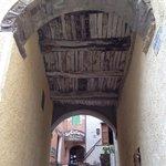 Antichi soffitti in ginepro