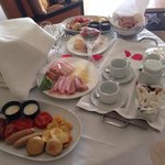 Breakfast in bed after the wedding day :)