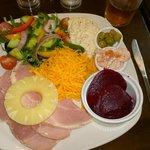 Beautifully prepared Ham Salad.