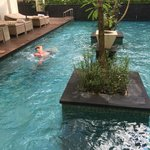 private pool shared by 3 suites