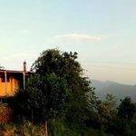 "Sunrise view of the ""Bangla"" cottage"