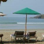 der ideale Platz, um sich von Indienreisen zu erholen :-)