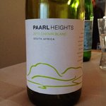 Good white wine from South Africa