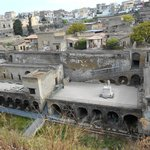 View over ancient Herculaneum