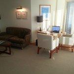Junior Suite work area