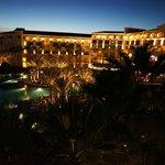 Sunrise over the Hotel