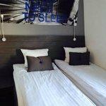 beds, narrow but comfortable
