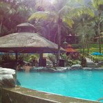 Sunken Bar in the Pool