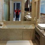 Finally a big bathtub!!