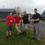 Boys ready to golf