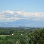 Mont Ventoux in the distance