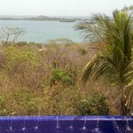 View from the pool area by the Casita