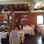 la sala da pranzo stile provenzale