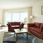 Venus suite separate living area appointed for your comfort