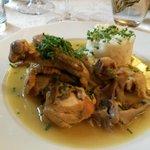plat de volaille