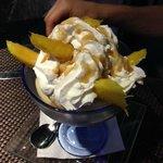 Coppa al mango