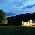 Kilcamb Lodge at night