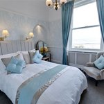 A sea front facing double room