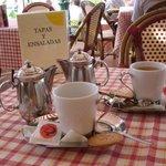 Tea at the Cafe de Paris