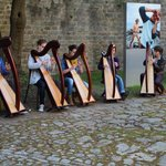 Breton music concert in the walled city of Vannes