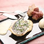 Filet de Saint-Pierre et mousseline de topinambours