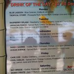 WOW ~ $7.00 Drink of the Day - All Day Long!!