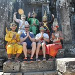 foto en los templos...