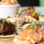 Taco sharing plate