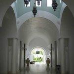 lobby entrance ceiling