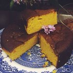 gluten free dairy free clementine and almond cake