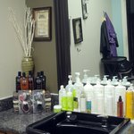 Hair Styling Station