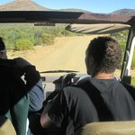 The truck and the tour guide - driver