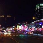 Night life in Nashville