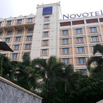 the exterior of Novotel Solo